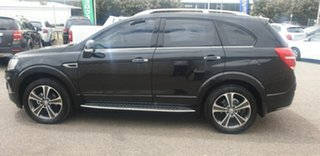 2016 Holden Captiva CG MY16 LTZ AWD Black 6 Speed Sports Automatic Wagon