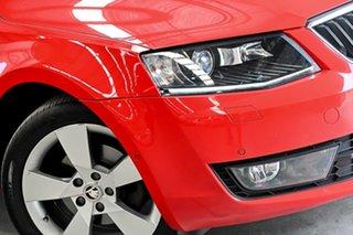 2015 Skoda Octavia NE MY16 Ambition Plus DSG 110TSI Red 7 Speed Sports Automatic Dual Clutch Wagon.