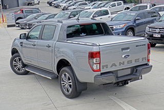 2020 Ford Ranger PX MkIII 2020.75MY Wildtrak Aluminium 10 Speed Sports Automatic Double Cab Pick Up.