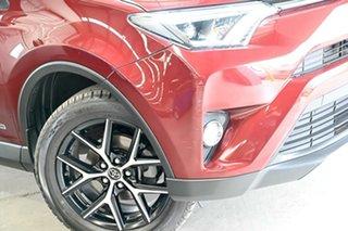 2017 Toyota RAV4 ALA49R GXL AWD Red 6 Speed Sports Automatic Wagon.
