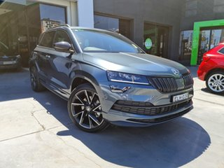 2020 Skoda Karoq NU MY21 140TSI DSG AWD Sportline Quartz Grey 7 Speed Sports Automatic Dual Clutch.