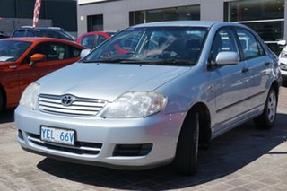 2006 Toyota Corolla ZZE122R 5Y Ascent Blue 4 Speed Automatic Hatchback.