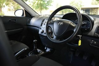 2011 Hyundai i30 FD MY11 SX Black 5 Speed Manual Hatchback