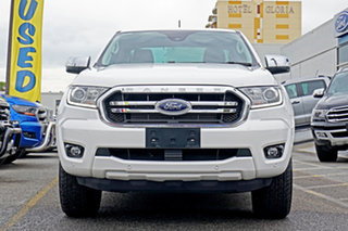 2019 Ford Ranger PX MkIII 2020.25MY XLT White 6 Speed Sports Automatic Super Cab Pick Up.