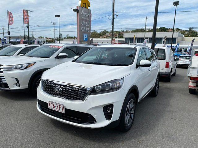 Used Kia Sorento UM MY20 Sport AWD Mount Gravatt, 2019 Kia Sorento UM MY20 Sport AWD Clear White 8 Speed Sports Automatic Wagon