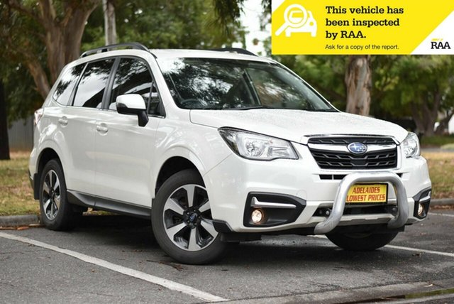 Used Subaru Forester S4 MY17 2.0D-L CVT AWD Melrose Park, 2017 Subaru Forester S4 MY17 2.0D-L CVT AWD White 7 Speed Constant Variable Wagon