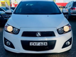 2012 Holden Barina TM MY13 CDX White 6 Speed Automatic Sedan