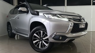 2017 Mitsubishi Pajero Sport QE MY17 GLX Silver 8 Speed Sports Automatic Wagon.