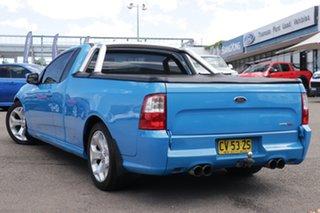 2009 Ford Falcon FG XR8 Ute Super Cab Blue 6 Speed Sports Automatic Utility.
