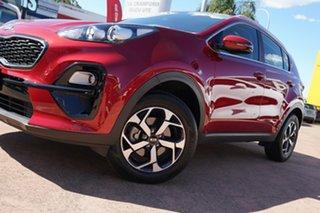 2020 Kia Sportage QL MY20 S (FWD) Red 6 Speed Automatic Wagon.