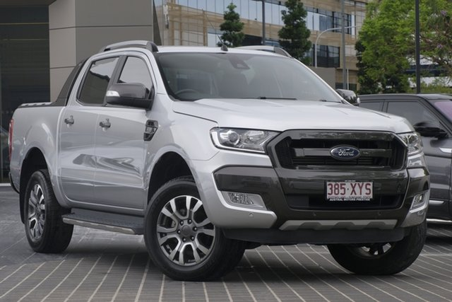 Used Ford Ranger PX MkIII 2019.00MY Wildtrak Newstead, 2018 Ford Ranger PX MkIII 2019.00MY Wildtrak Silver 6 Speed Sports Automatic Utility