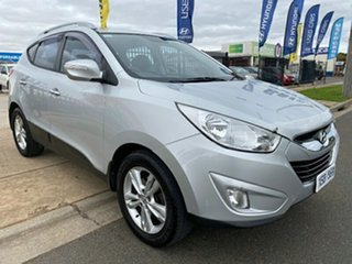 2010 Hyundai ix35 LM Elite AWD Sleek Silver 6 Speed Sports Automatic Wagon.