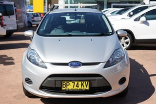 2011 Ford Fiesta WT LX Silver 6 Speed Automatic Hatchback