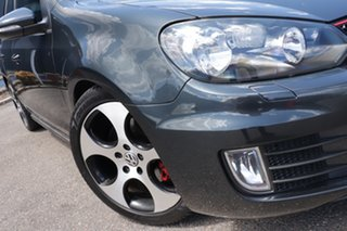 2010 Volkswagen Golf VI MY10 GTi Grey 6 Speed Manual Hatchback.