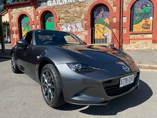 2017 Mazda MX-5 ND GT RF SKYACTIV-MT Machine Grey 6 Speed Manual Targa.