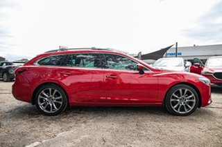 2015 Mazda 6 GJ1032 Atenza SKYACTIV-Drive Red 6 Speed Sports Automatic Wagon