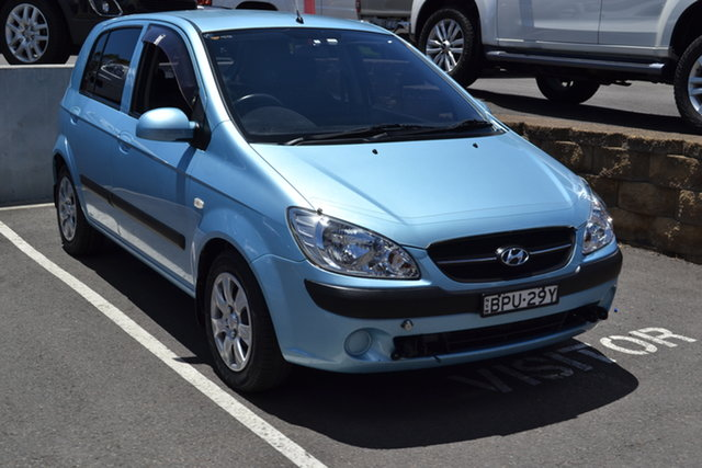 Used Hyundai Getz TB MY09 SX Maitland, 2010 Hyundai Getz TB MY09 SX Blue 5 Speed Manual Hatchback