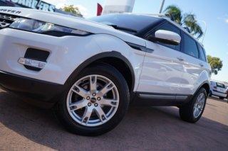 2011 Land Rover Range Rover Evoque LV SD4 Pure White 6 Speed Automatic Wagon.