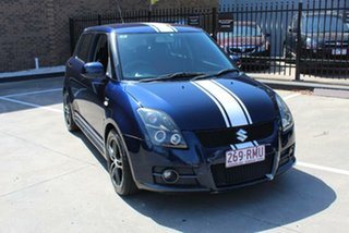 2007 Suzuki Swift EZ Sport Blue 5 Speed Manual Hatchback.