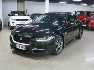 2016 Jaguar XE X760 MY16 R-Sport Black 8 Speed Sports Automatic Sedan.