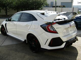 2017 Honda Civic 10th Gen MY17 Type R Pearl White 6 Speed Manual Hatchback.
