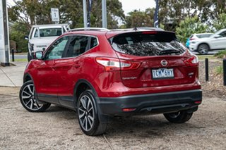 2014 Nissan Qashqai J11 TI Red 1 Speed Constant Variable Wagon.