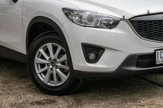 2013 Mazda CX-5 KE1021 Maxx SKYACTIV-Drive AWD Sport White 6 Speed Sports Automatic Wagon.