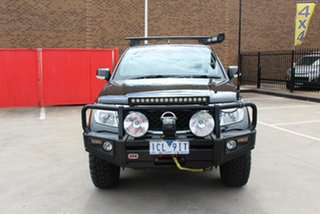 2014 Nissan Navara D40 MY12 ST (4x4) Black 5 Speed Automatic Dual Cab Pick-up.
