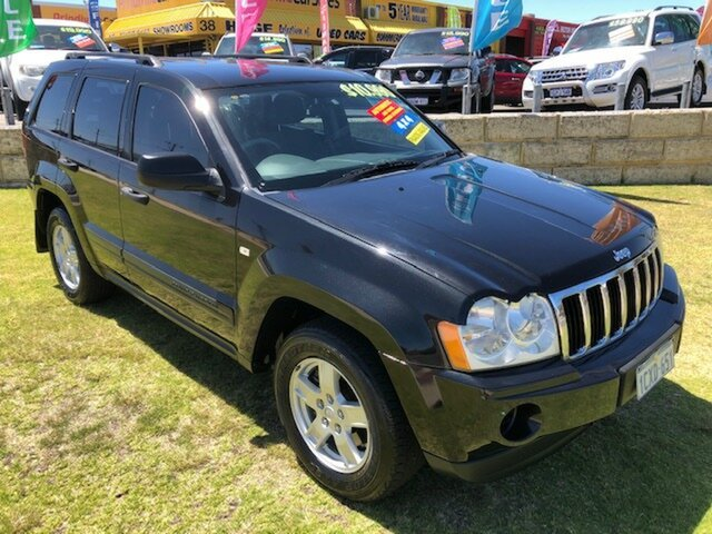 Used Jeep Grand Cherokee WH MY2007 Laredo Wangara, 2008 Jeep Grand Cherokee WH MY2007 Laredo Black 5 Speed Automatic Wagon