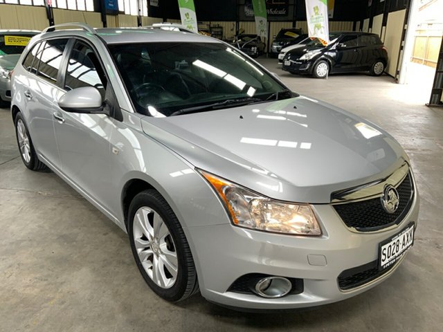 Used Holden Cruze JH MY13 CDX Hampstead Gardens, 2013 Holden Cruze JH MY13 CDX Silver 6 Speed Automatic Sportswagon