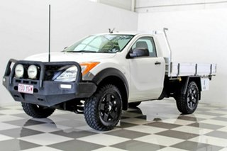 2012 Mazda BT-50 XT Hi-Rider (4x2) White 6 Speed Automatic Cab Chassis