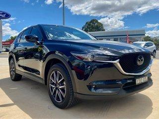 2019 Mazda CX-5 GT Black Sports Automatic Wagon.