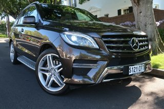 2014 Mercedes-Benz M-Class W166 MY805 ML350 BlueTEC 7G-Tronic + 7 Speed Sports Automatic Wagon.