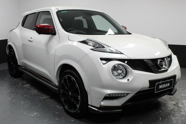 Used Nissan Juke F15 MY18 NISMO 2WD RS Hamilton, 2018 Nissan Juke F15 MY18 NISMO 2WD RS White 6 Speed Manual Hatchback