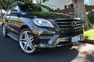 2014 Mercedes-Benz M-Class W166 MY805 ML350 BlueTEC 7G-Tronic + Brown 7 Speed Sports Automatic Wagon.