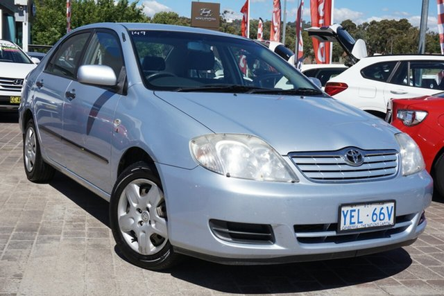 Used Toyota Corolla ZZE122R 5Y Ascent Phillip, 2006 Toyota Corolla ZZE122R 5Y Ascent Blue 4 Speed Automatic Hatchback
