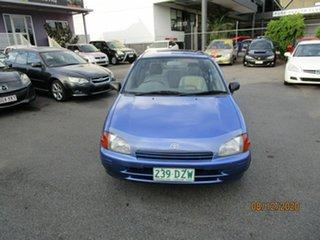 1997 Toyota Starlet EP91R Life Blue 5 Speed Manual Hatchback.