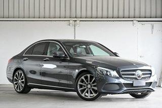 2016 Mercedes-Benz C-Class W205 807MY C250 7G-Tronic + Grey 7 Speed Sports Automatic Sedan.