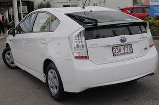 2011 Toyota Prius ZVW30R White 1 Speed Constant Variable Liftback Hybrid.
