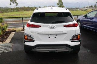 2020 Hyundai Kona OS.3 MY20 Highlander 2WD Chalk White 6 Speed Sports Automatic Wagon.