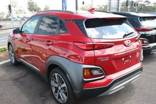 2020 Hyundai Kona OS.3 MY20 Highlander 2WD Pulse Red 6 Speed Sports Automatic Wagon