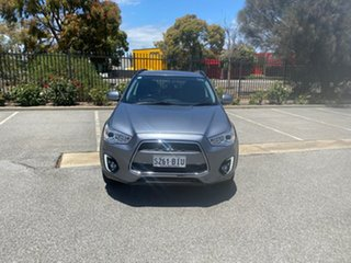 2015 Mitsubishi ASX XB MY15.5 LS 2WD Grey 6 Speed Constant Variable Wagon.