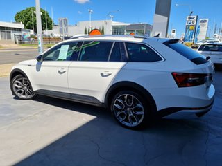 2020 Skoda Superb NP MY20.5 200TSI DSG Scout Candy White 7 Speed Sports Automatic Dual Clutch Wagon.