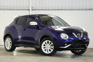 2015 Nissan Juke F15 Series 2 Ti-S X-tronic AWD Blue 1 Speed Constant Variable Hatchback.