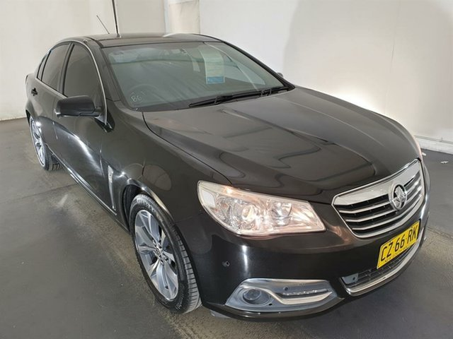 Used Holden Calais VF MY14 Maryville, 2013 Holden Calais VF MY14 Black 6 Speed Sports Automatic Sedan