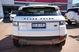 2011 Land Rover Range Rover Evoque LV SD4 Pure White 6 Speed Automatic Wagon
