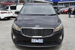 2015 Kia Carnival YP MY15 SLi Black 6 Speed Sports Automatic Wagon.