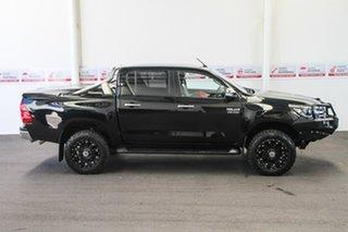 2016 Toyota Hilux GUN126R SR5 (4x4) Eclipse Black 6 Speed Automatic Dual Cab Utility