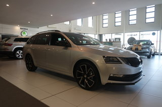 2020 Skoda Octavia NE MY20.5 Sport DSG 110TSI Brilliant Silver 7 Speed Sports Automatic Dual Clutch