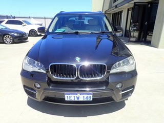 2010 BMW X5 E70 MY11 xDrive30d Steptronic Black Magic 8 Speed Sports Automatic Wagon.
